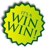 It's a win win sticker image